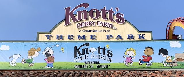 Good grief! It's time again for Knott's Peanuts Celebration