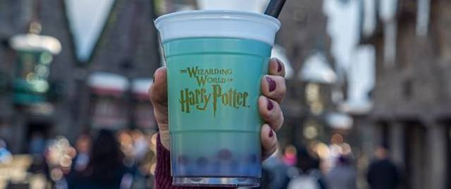 Fishy Green Ale comes to the Wizarding World Hollywood