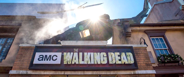 Universal's zombie attraction becomes... a zombie attraction