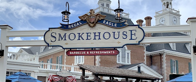Disney dining review: Regal Eagle Smokehouse at Epcot