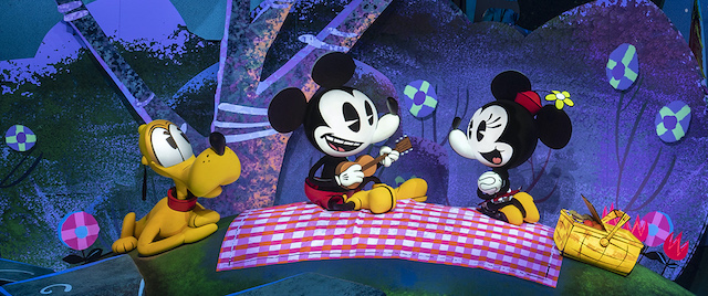 Bringing Mickey & Minnie's Runaway Railway to life