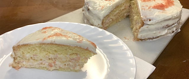 Social Distancing Kitchen: How to make Disney's Grapefruit Cake