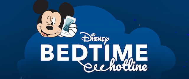 Here's How to Get a Goodnight Call from Mickey Mouse