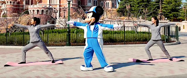 It's Time for Yoga with Mickey Mouse
