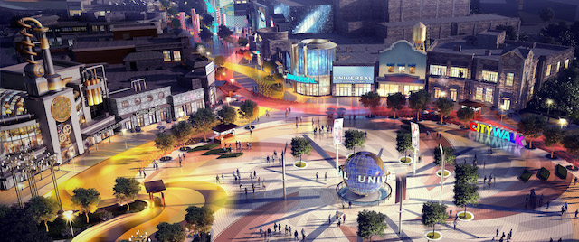 Universal Studios Beijing Reveals its CityWalk Plans