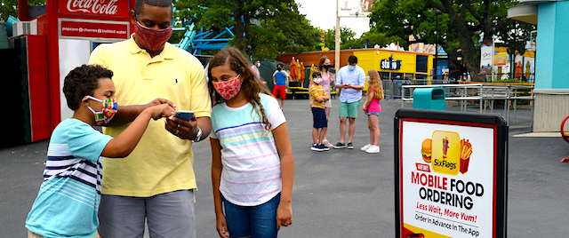 Six Flags Introduces Mobile Food Ordering