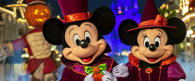 Disney World Cancels its Annual Halloween Party