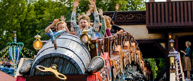 Efteling Opens Its New Family Coaster, Max & Moritz