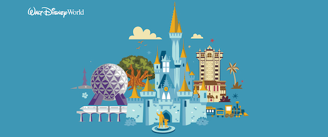 Walt Disney World Resort graphic 2020