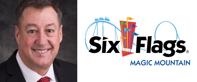 New Park President Takes Over at Six Flags Magic Mountain