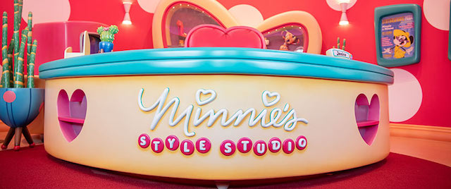First Look Inside Disney's New Minnie's Style Studio
