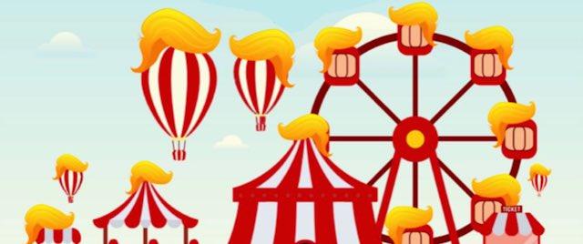 Theme Park Designers Get Political with Trumpland Campaign