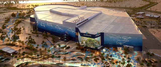 Here's the Latest Look at SeaWorld's Next Theme Park