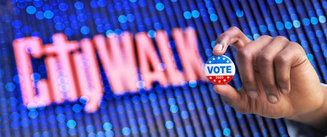 Universal Studios Hollywood's CityWalk to Open Voting Center