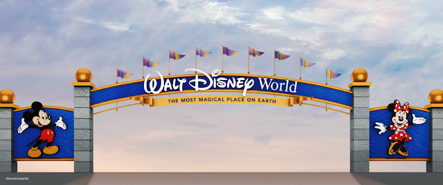 New Marquee Coming to Walt Disney World's Entrances
