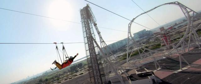 Ferrari World Abu Dhabi Zip Line