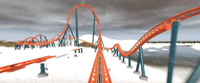 First Look: On-Ride POV for SeaWorld's Ice Breaker
