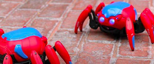 Check Out Disneyland's New Spider-Man Battling Bots