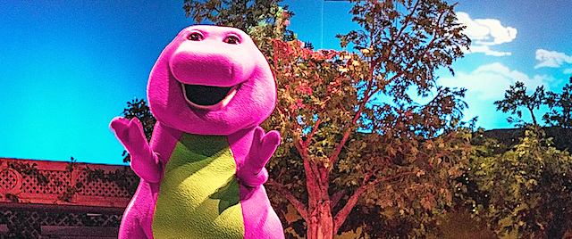 Universal Orlando Closes Its Barney the Dinosaur Show