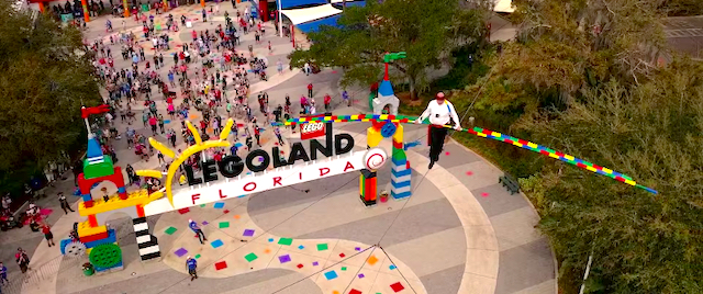 High-Wire Stunt Honors New Pirate Show at Legoland Florida