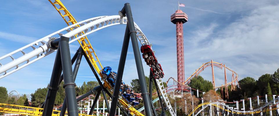 Six Flags Magic Mountain Set For April 1 Return