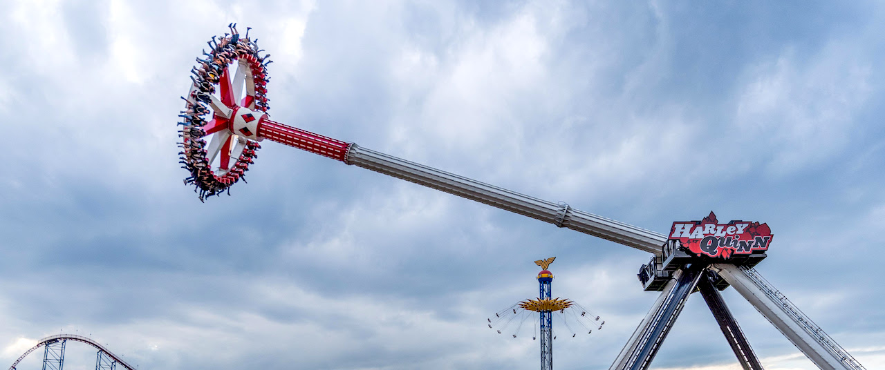 Harley Quinn Spinsanity Debuts at Six Flags America