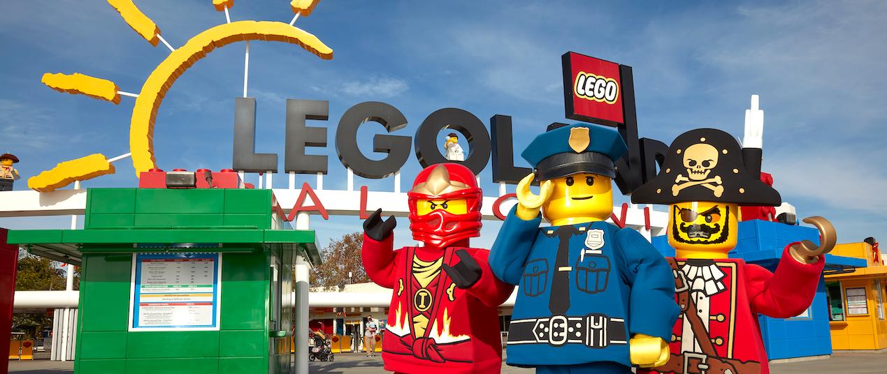 What's Next to Legoland California?
