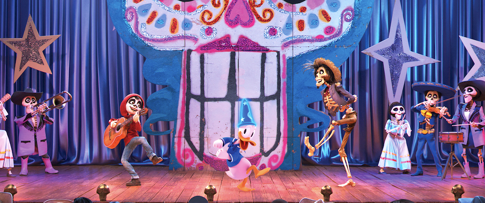 Coco in Mickey's PhilharMagic