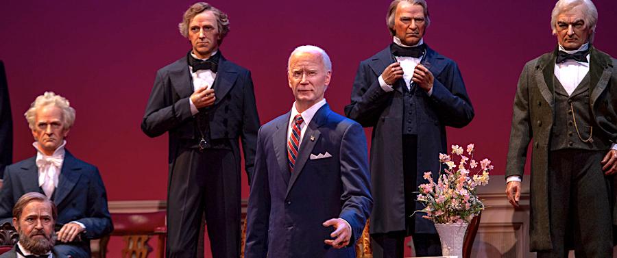 President Biden goes to Disney World