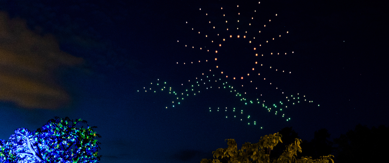 Go Behind the Scenes at Dollywood's Drone Show