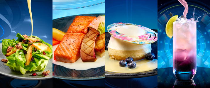 First Look at Epcot's Space 220 Menu