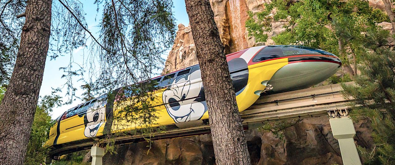 Disneyland's Monorail Reopens Friday
