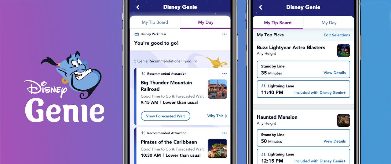 How to Use Disney Genie at Walt Disney World