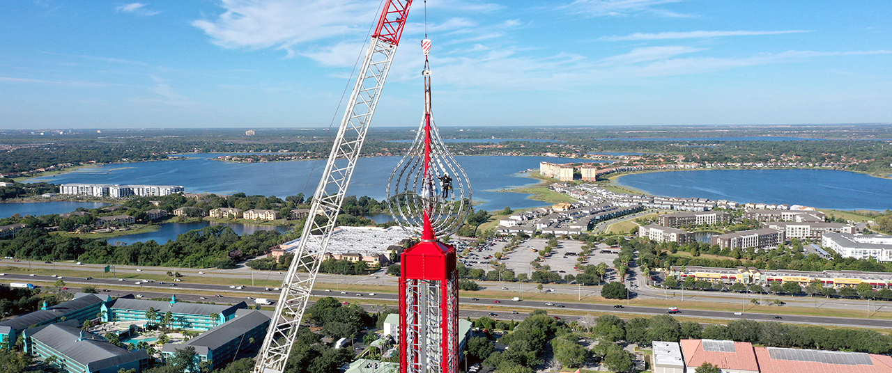 World Record Drop Ride Tops Off in Orlando