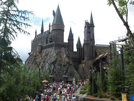 Hogwarts Castle at Universal;'s Islands of Adventure