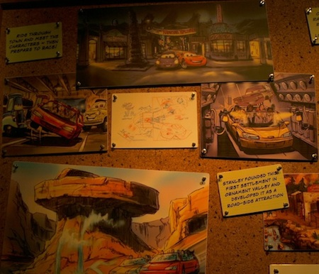 Radiator Springs Racers concept art