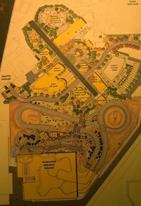 Cars Land plans