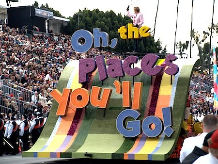 Rose Parade opening float