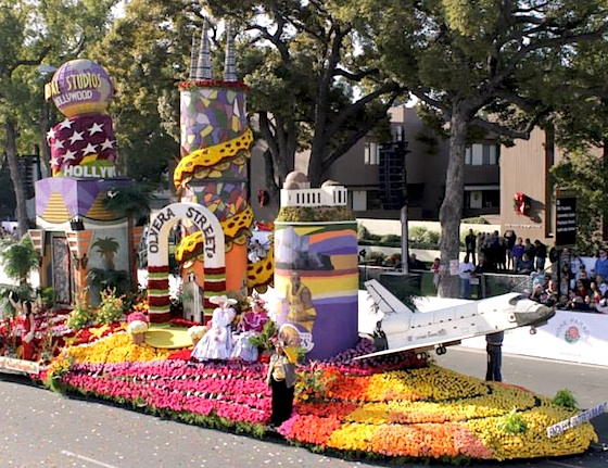 Los Angeles 2014 Rose Parade float
