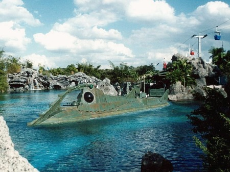 Long-gone attractions at Walt Disney World