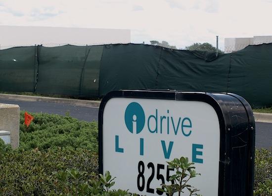 I-Drive Live sign