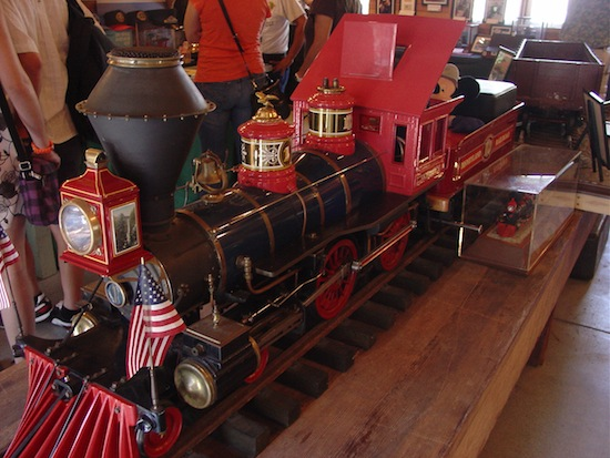 Disneyland railroad model