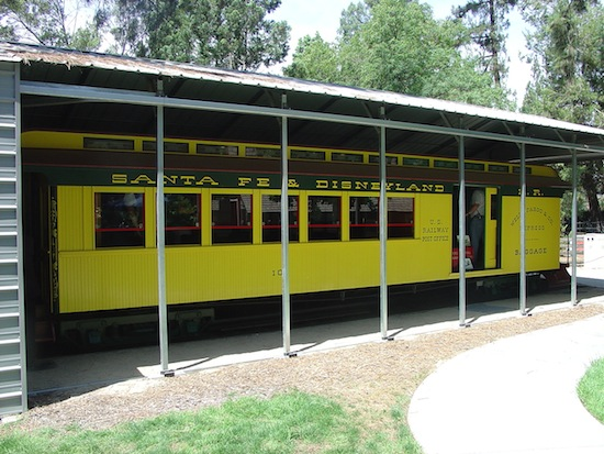 Original Disneyland coach car