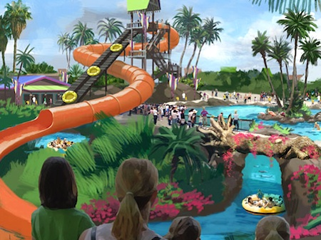 Concept art for Aquatica Texas