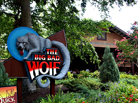 Big Bad Wolf entrance