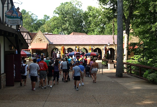 Busch Gardens Williamsburg offers beautiful and challenging