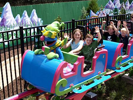 Grover's roller coaster