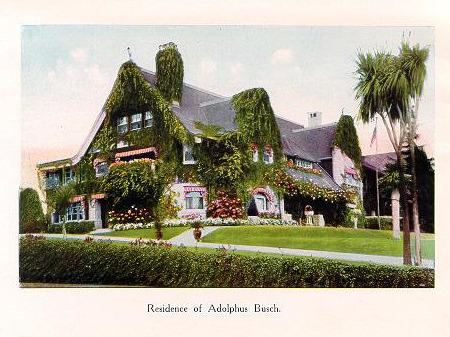 Adolphus Busch's Ivy Hall
