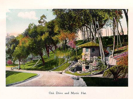 Busch Gardens Pasadena's Mystic Hut
