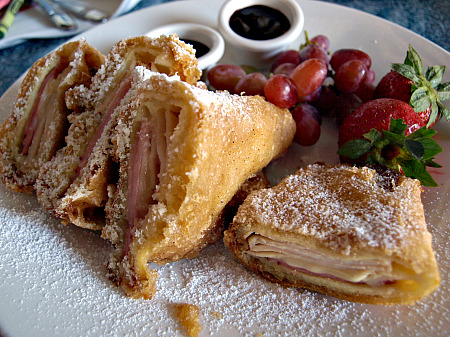 Monte Cristo sandwich at Disneyland